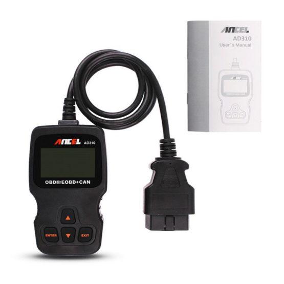 Ancel AD310, obd2, автономный сканер